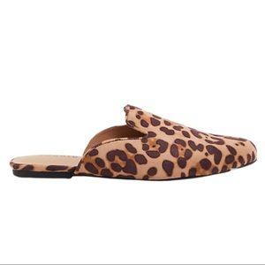 Torrid Leopard Faux Suede Slip-On Loafers | 9